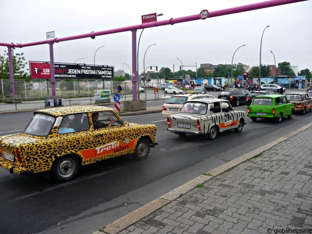 Photos of Berlin East German Car Trabant
