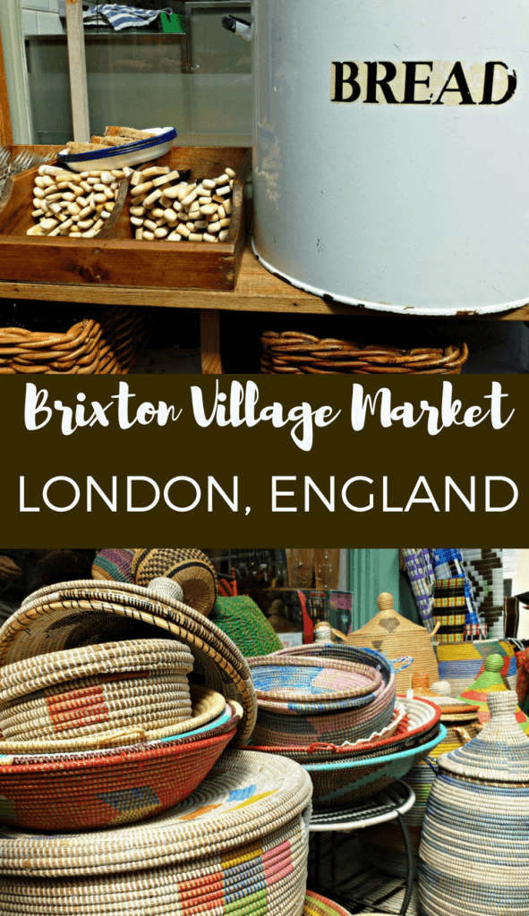 Brixton Village Market is one of our favourites in London. It has great places to eat, drink and buy some quirky gifts.