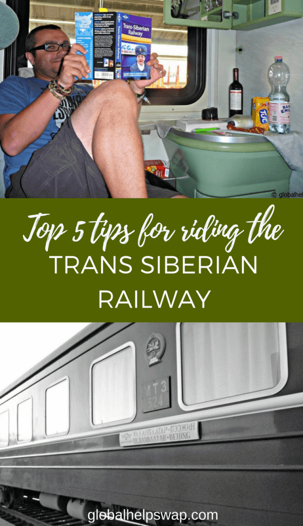 Top 5 tips on riding on the trans siberian railway
