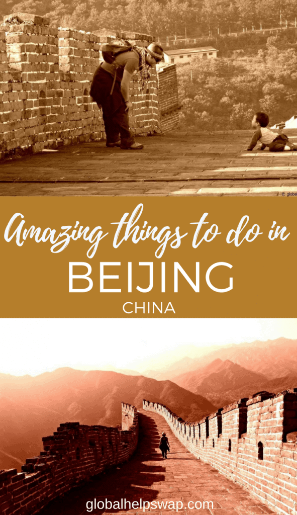 Things to do in Beijing, China. From eating in amazing restaurants to visiting the great wall of China. Add Hutongs, Tiananmen Square, The Forbidden City and cycling and you have one amazing city.