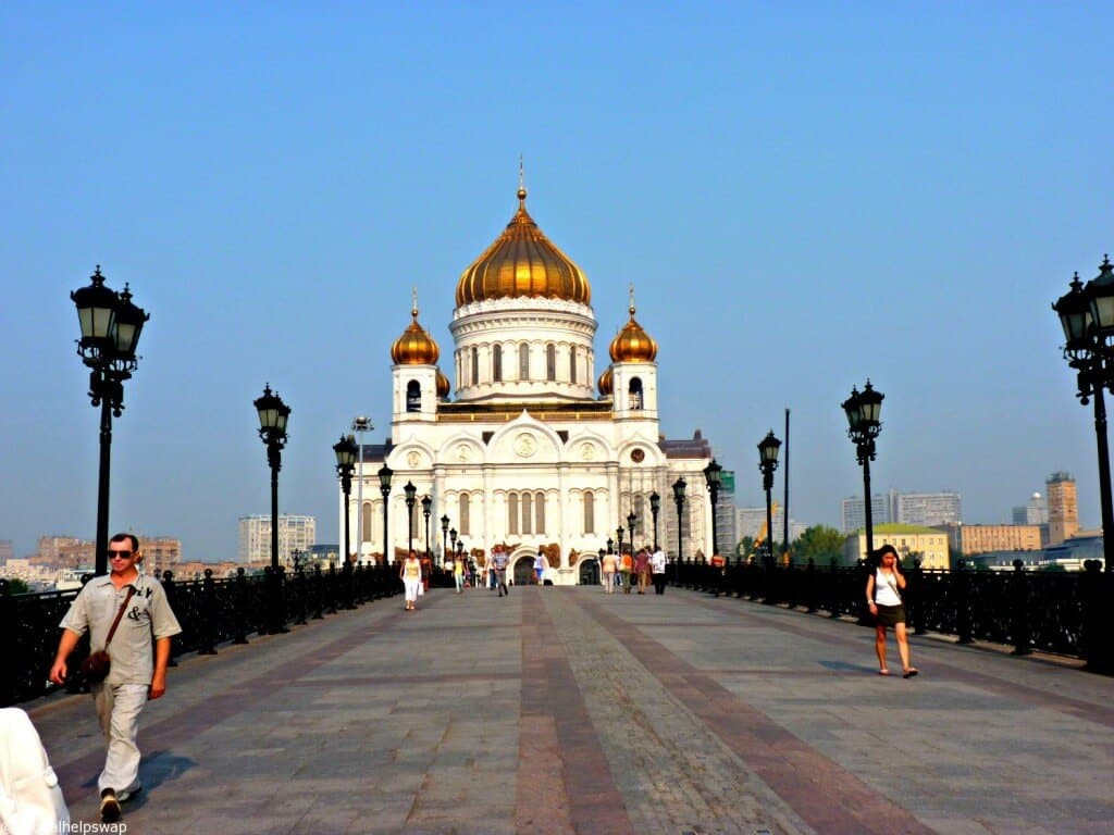 Memories of early travels : Moscow Vlog