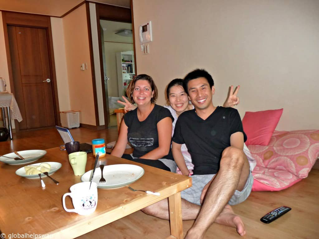 Our first couchsurfing experience