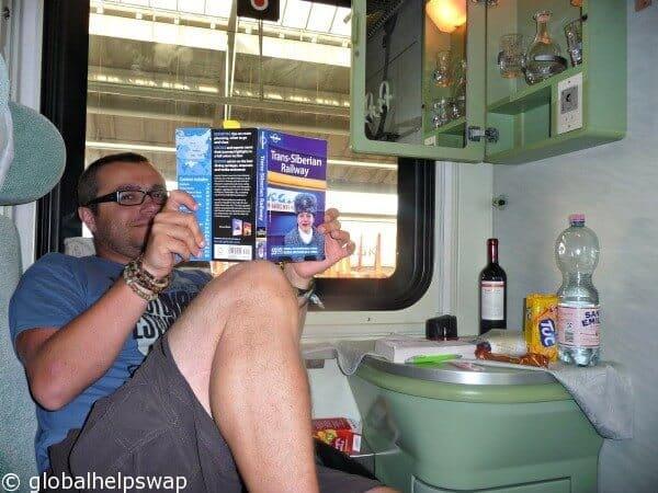 Memories of early travels: Trans Siberian Railway Vlog