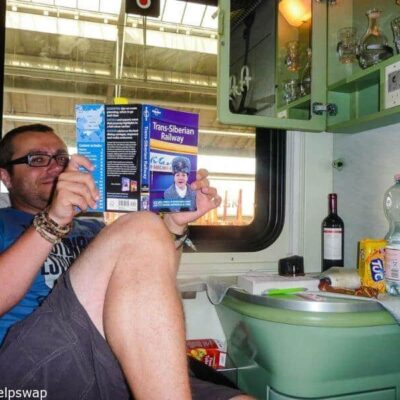 How we nearly starved on our first long train journey