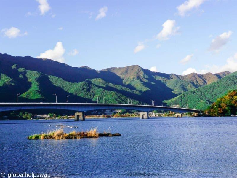 Kawaguchiko to visit Mount Fuji