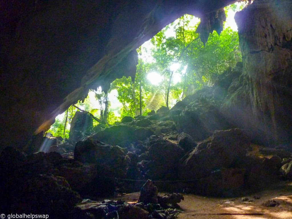 The night we slept in a cave in Malaysia