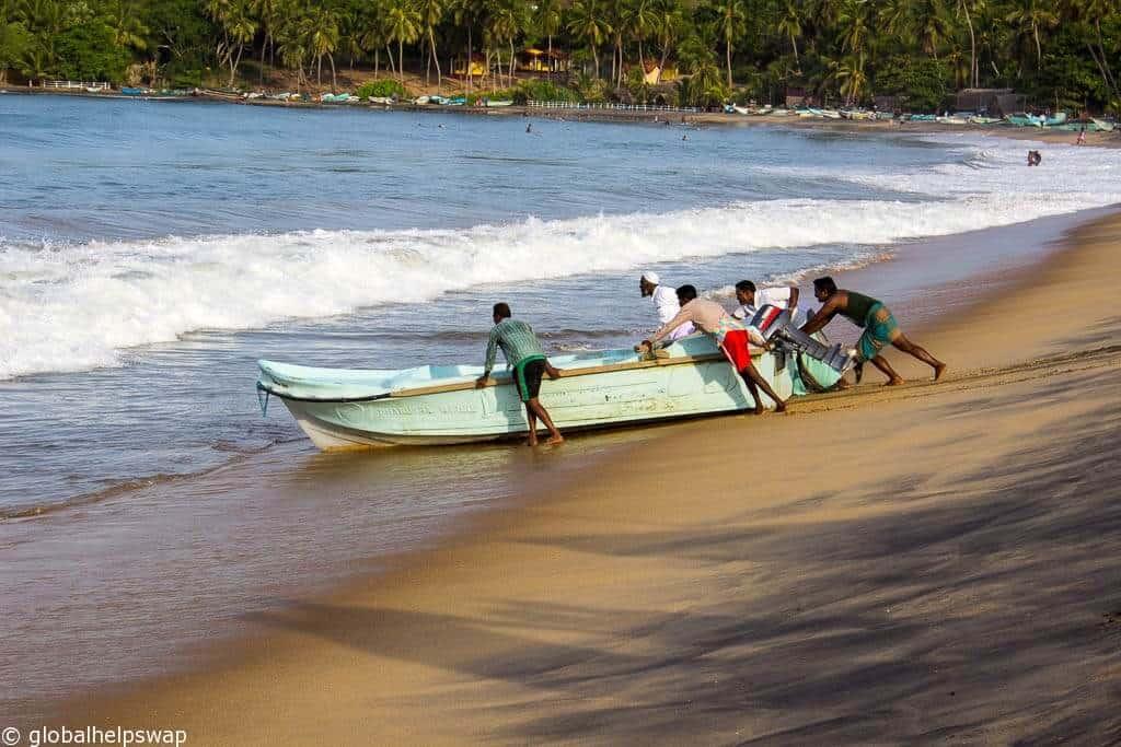 Sri Lanka east coast