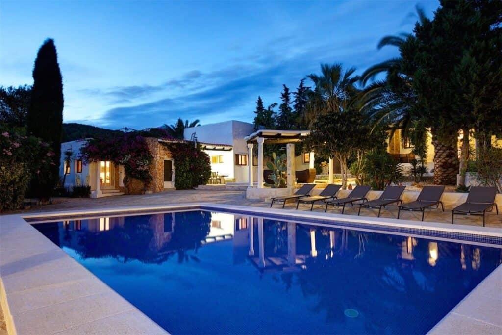 Quiet hotels in Ibiza