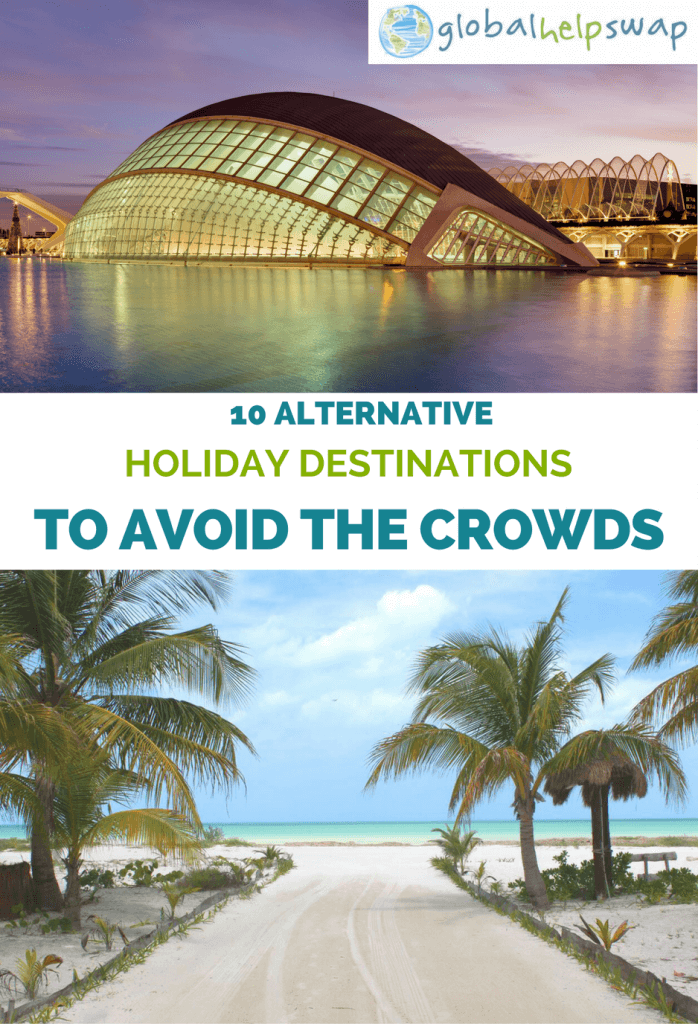 Alternative holiday destinations