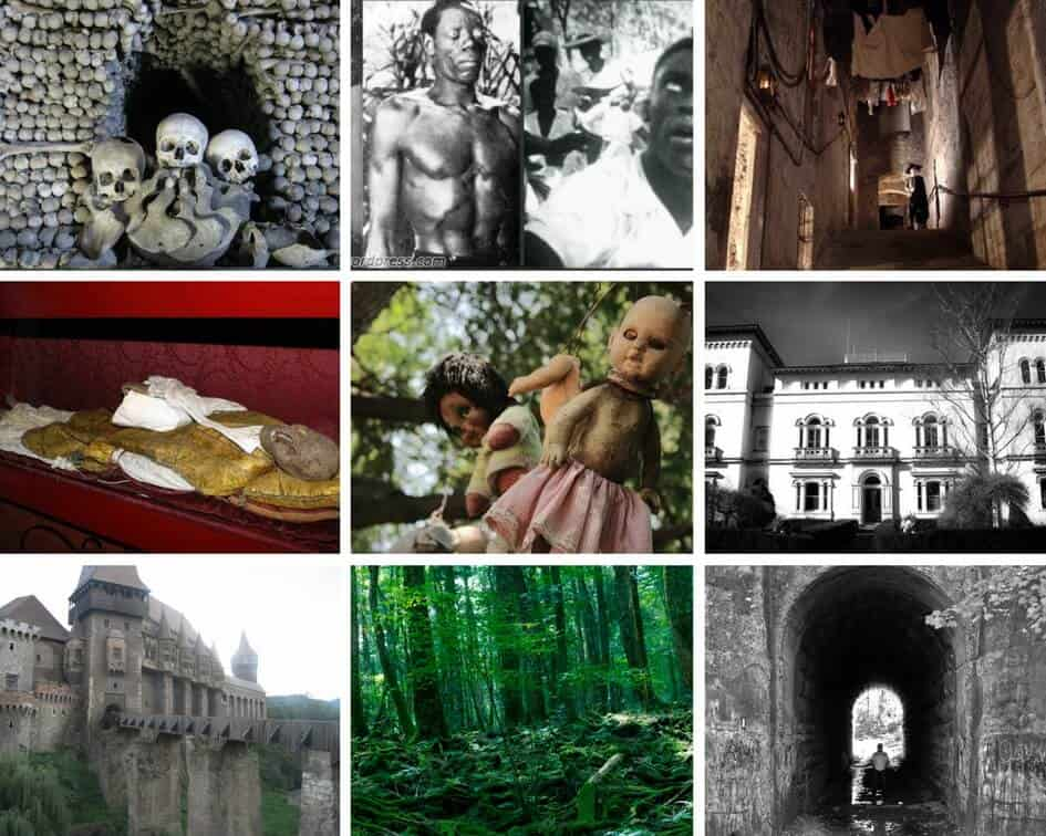 The 13 scariest destinations to celebrate halloween