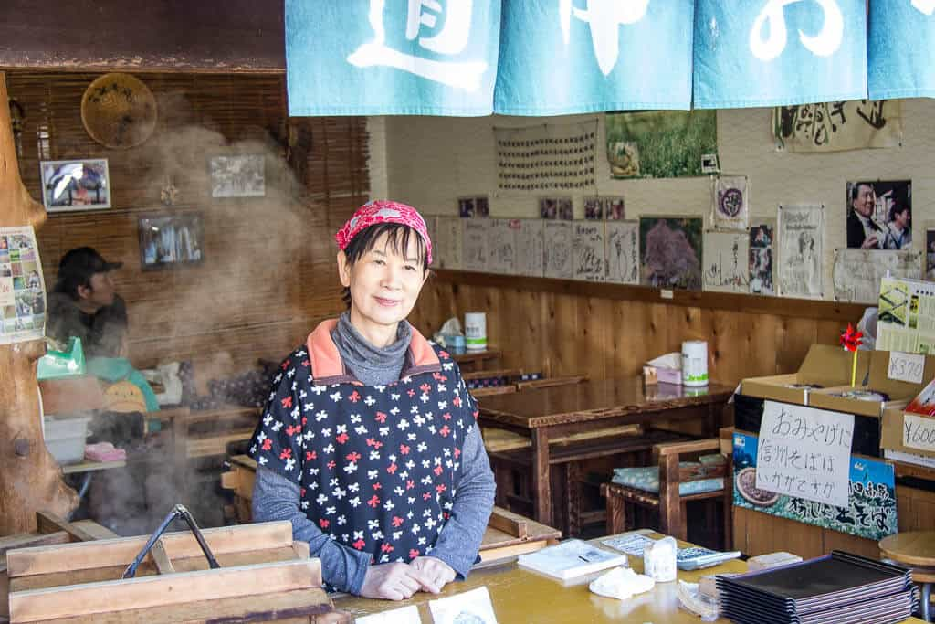 A local in Magome