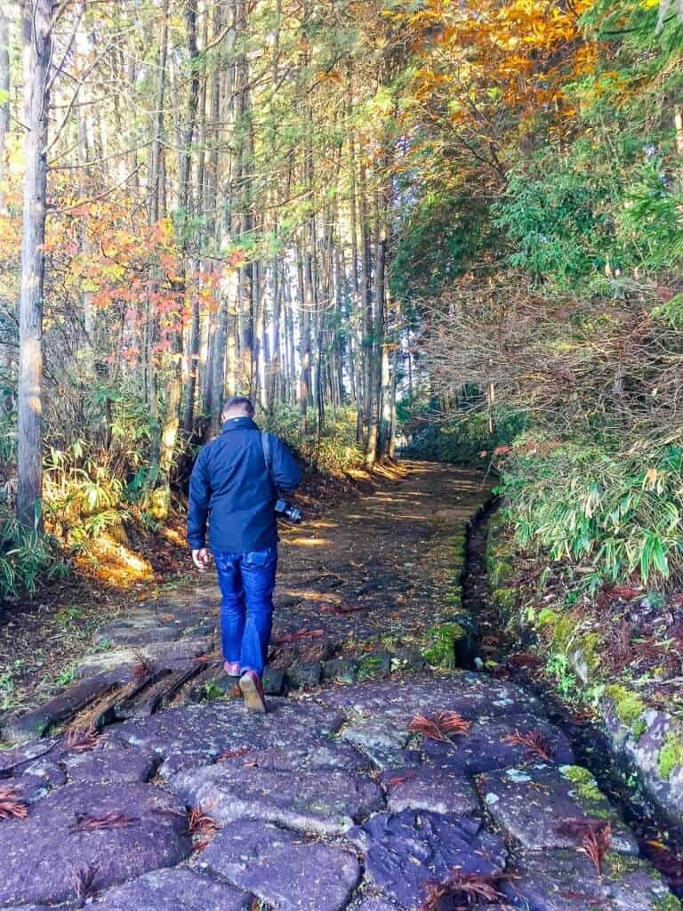 Walking the Nakasendo Trail