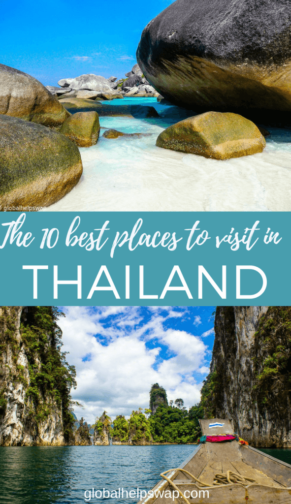 The best places to visit in Thailand. From Chiang Mai to quiet islands we list our favourite places in Thailand and why you should visit them.