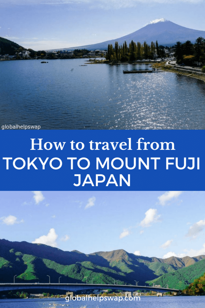How to travel from Tokyo to Mount Fuji. Kawaguchiko is the town you want to head to when you want to visit Mount Fuji from Tokyo.