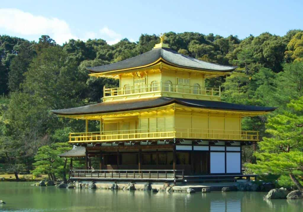 The Golden Temple in Kyoto Japan