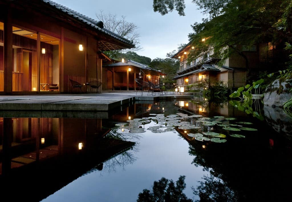 A Ryokan in Kyoto Japan