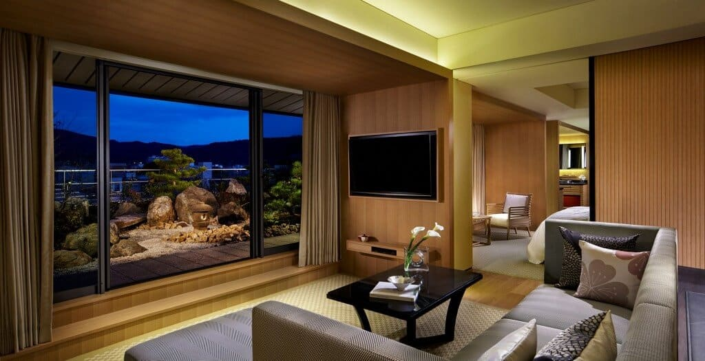 The Ritz Carlton Hotel, Kyoto, Japan