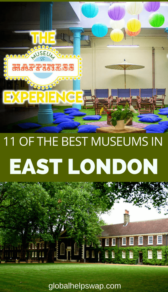 Check out our favourite museums in East London, England. From the museum of childhood to the museum of happiness there is a museum for everyone. With most of them free you have no excuse not to get your culture fix.