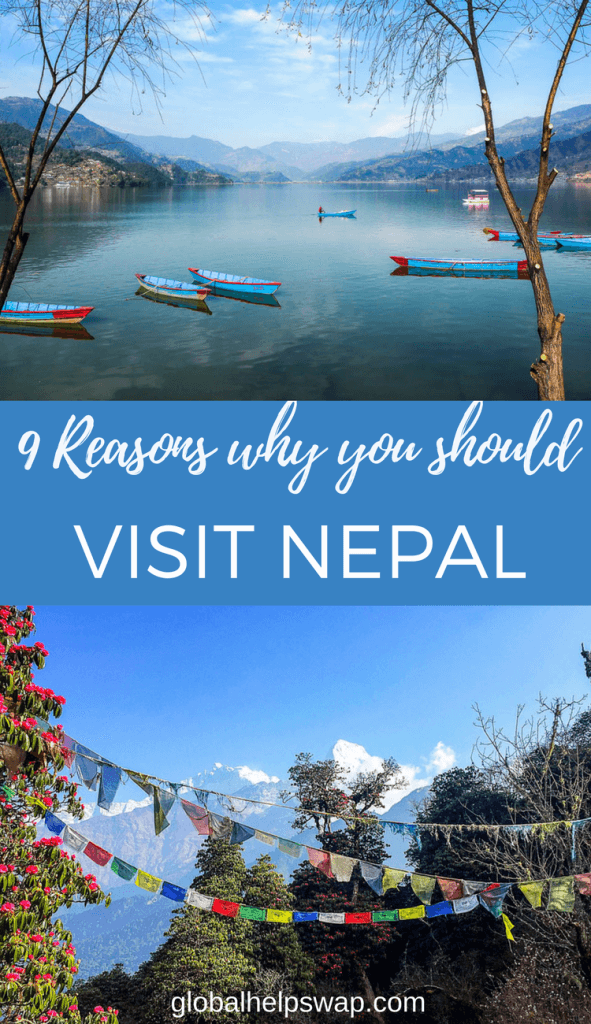 9 reasons why you shout travel to Nepal. From the himalayas to pokhara, Nepal has it all.