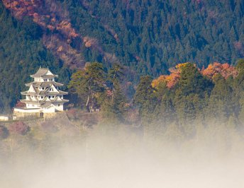 The castle in the sky, Gujo Hachiman Castle