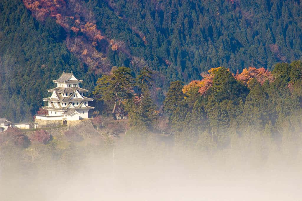 The castle in the sky, Gujo Hachiman Castle