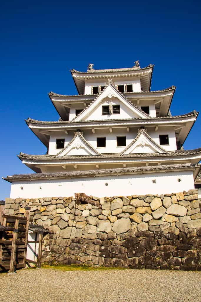 Gujo Hachiman Castle, Gifu Prefecture, Japan