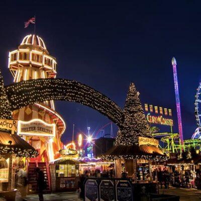 Winter Wonderland Hyde Park London