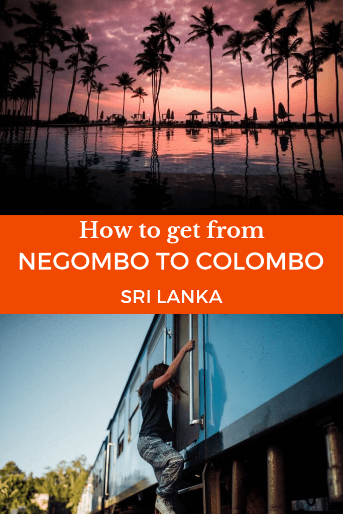 How To Get From Negombo to Colombo By Train, Bus Or Taxi. If you are heading to Sri Lanka and was wondering how to get from Negombo or the airport to Colombo please read our post for all the travel information you need.