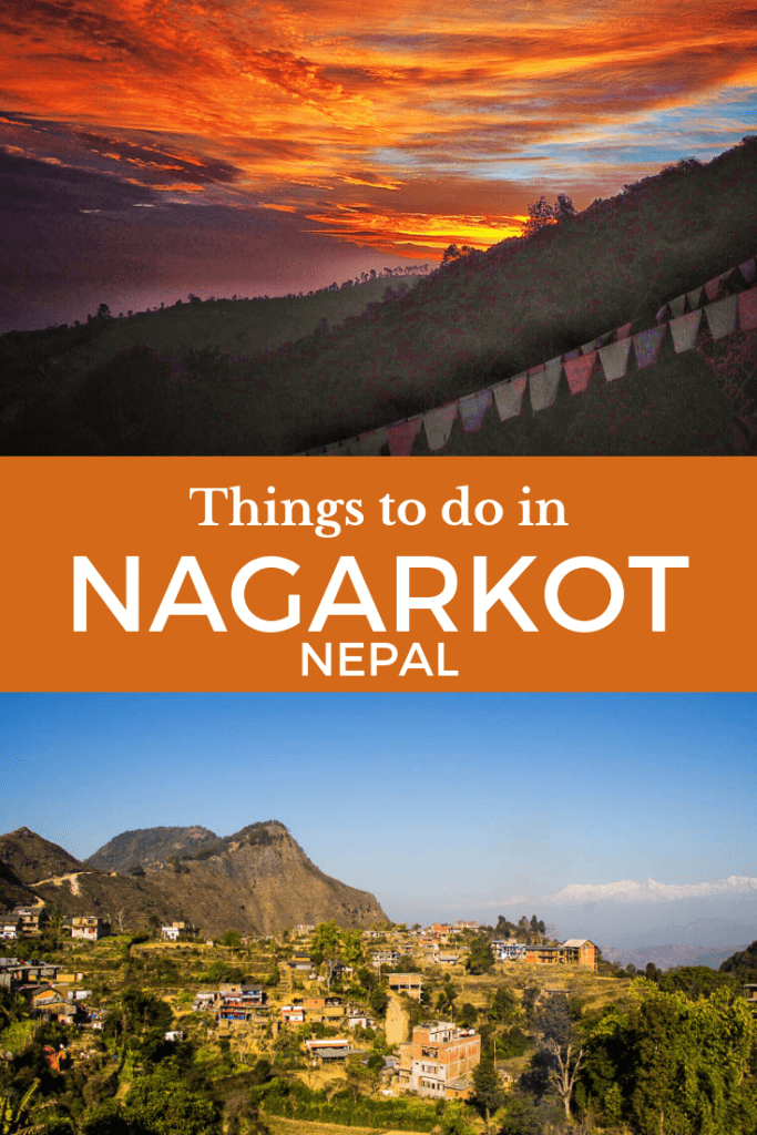 Nagarkot, Nepal is one of the best places to see the Eastern Himalayan Mountains including Everest. Stay here for a day or two to hike, rock climb or just chill out admiring the views.