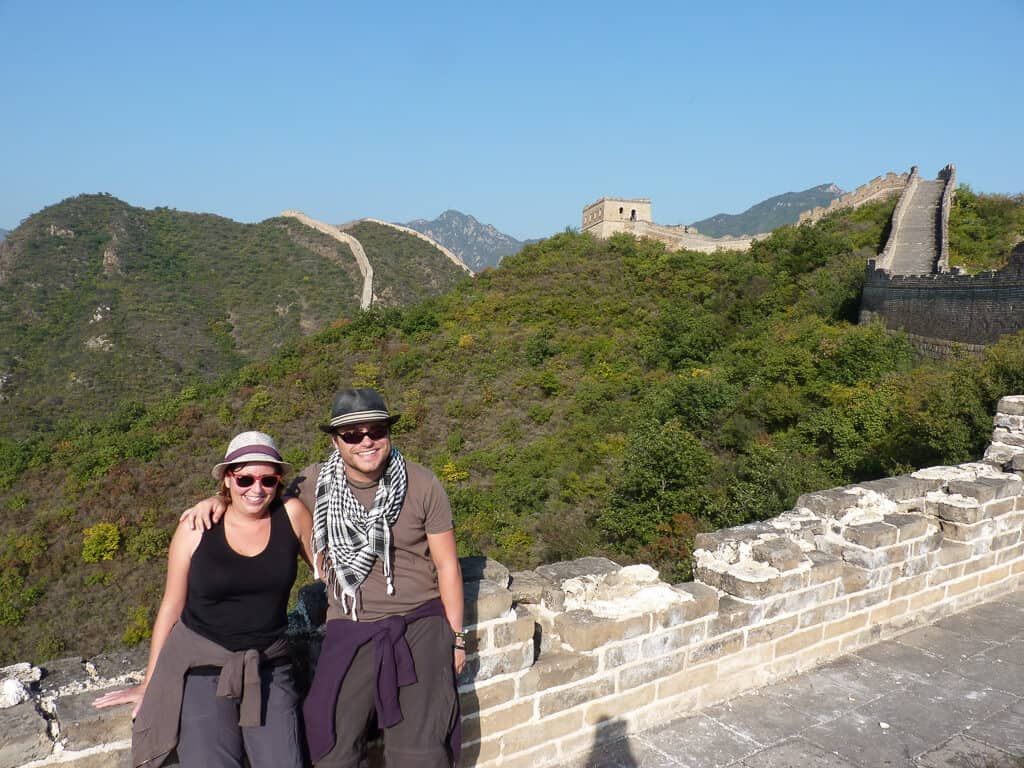 The great wall of china, a UNESCO world heritage site