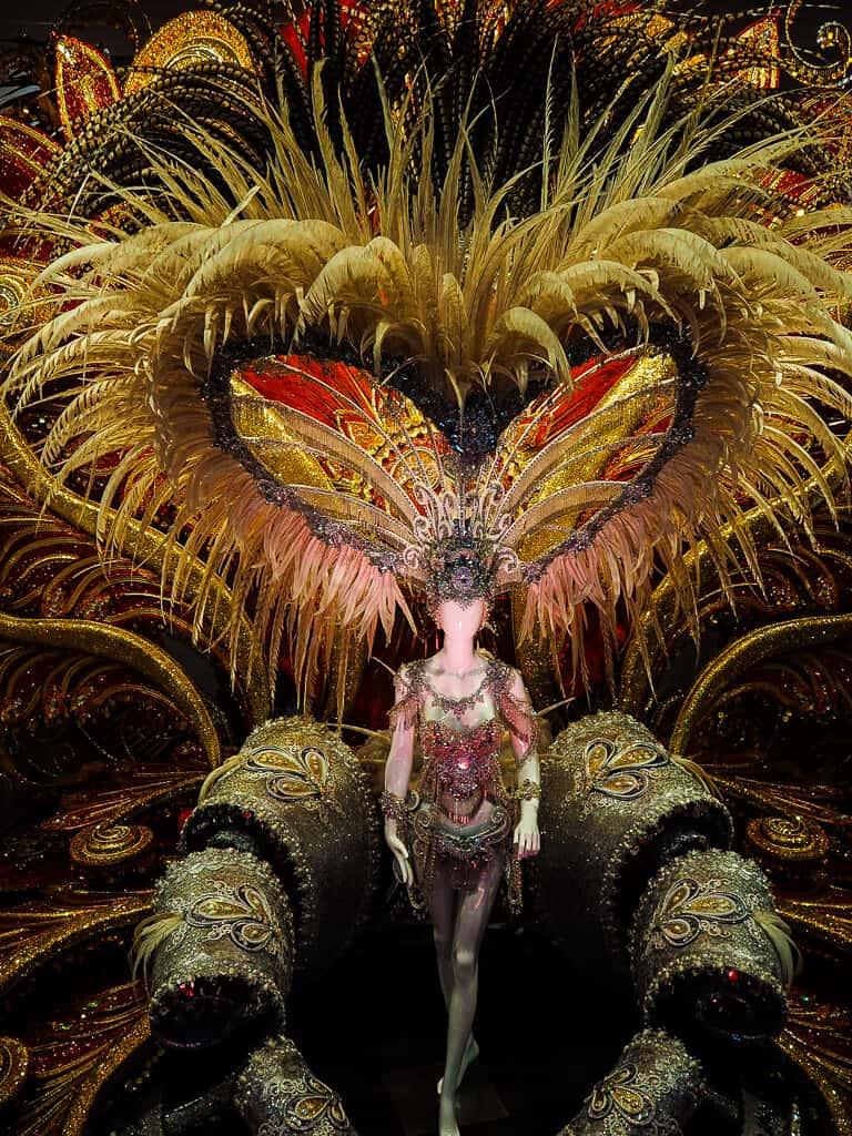 Queen of Tenerife outfit at The Carnival Museum, Santa Cruz, Tenerife