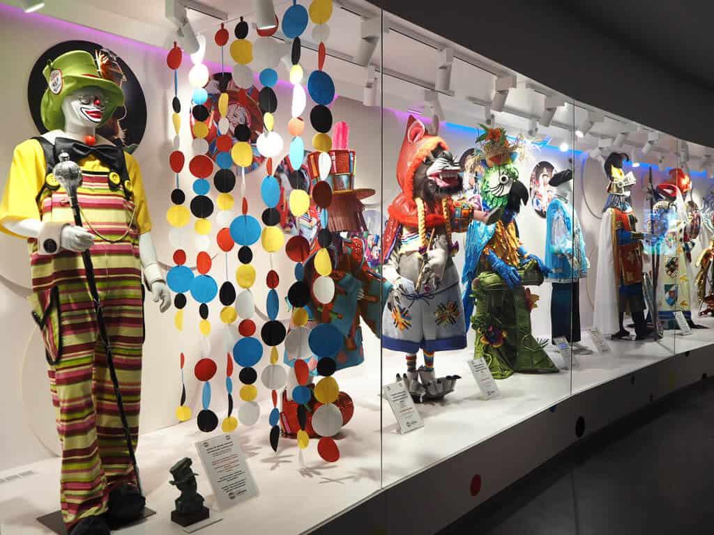 Costumes at Casa del Carnaval, Santa Cruz, Tenerife
