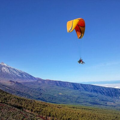 Paragliding in Teide National Park