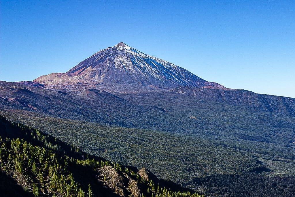 Mount Teide - Panoramic view of Teide Volcano ( 3718 mts
