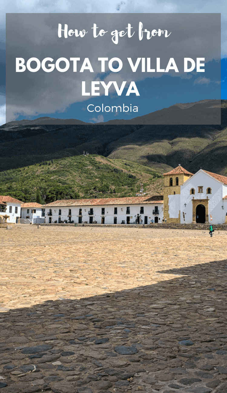 Do you want to know how to get from Bogota to Villa de Leyva? Then check out our quick guide on how to do it by bus, taxi or minibus.