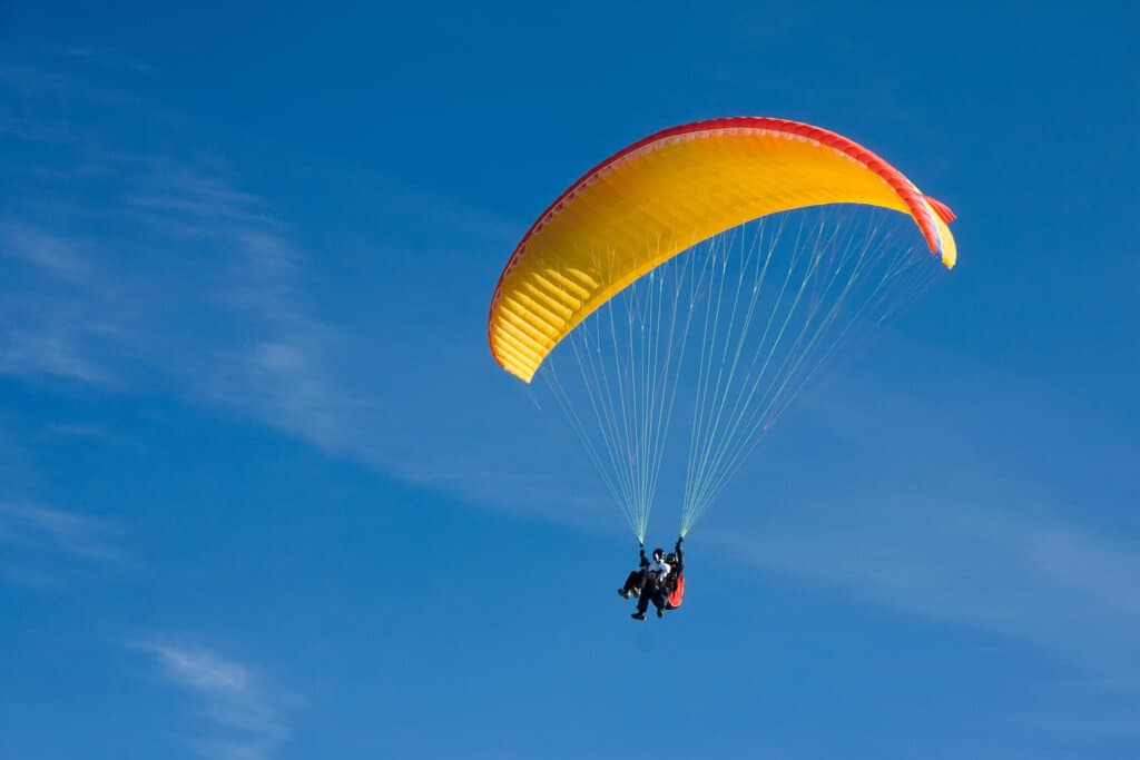Paragliding in Bandipur