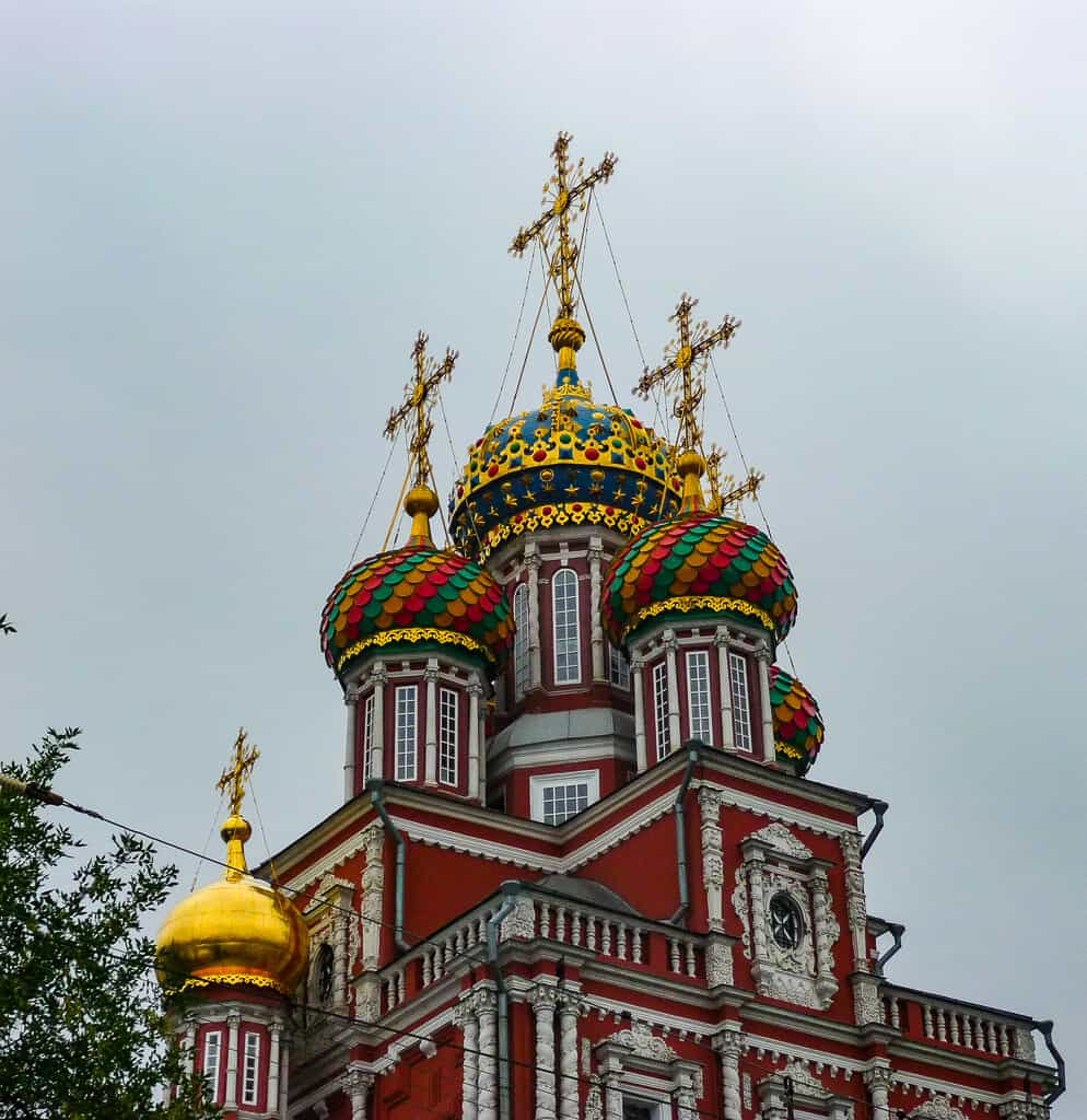 A church in Nizhny Novgorod