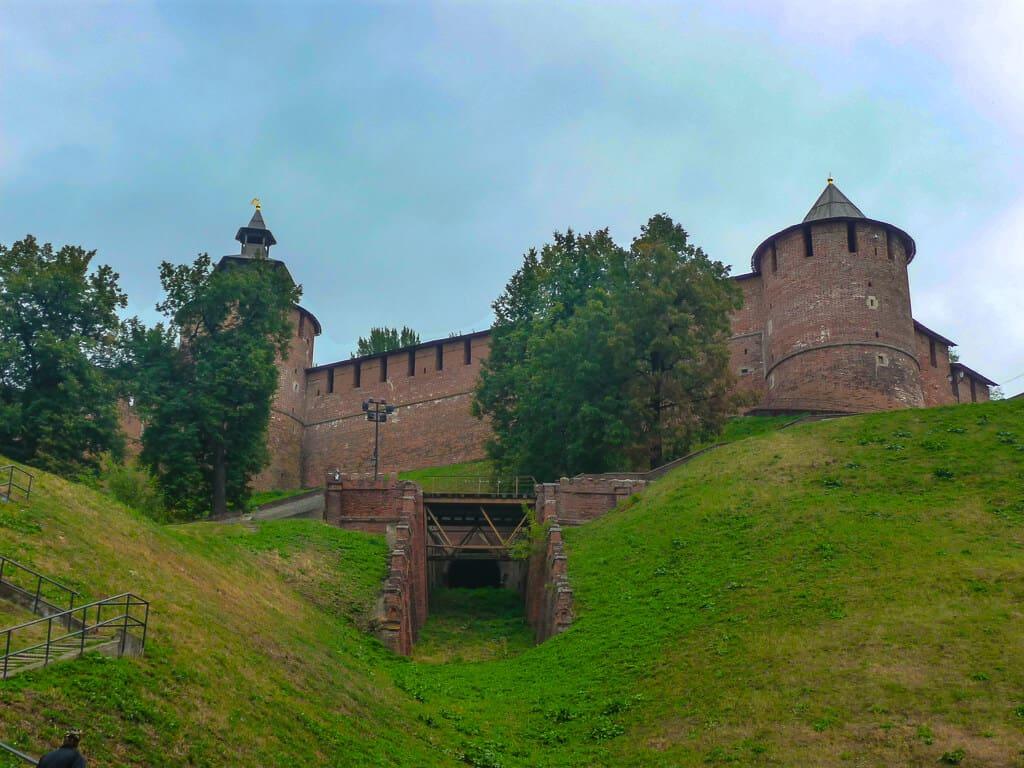 The Old Kremlin in Nizhny Novgorod