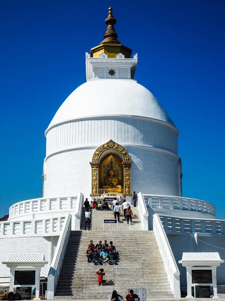 World Peace Pagoda, Pokhara, Nepal