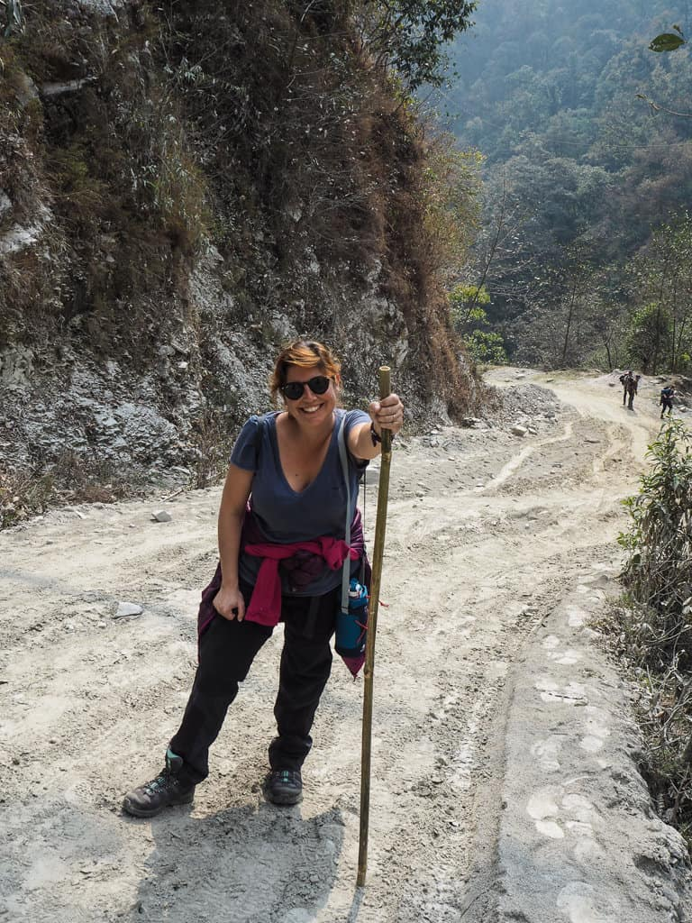 Hiking in Pokhara, Nepal
