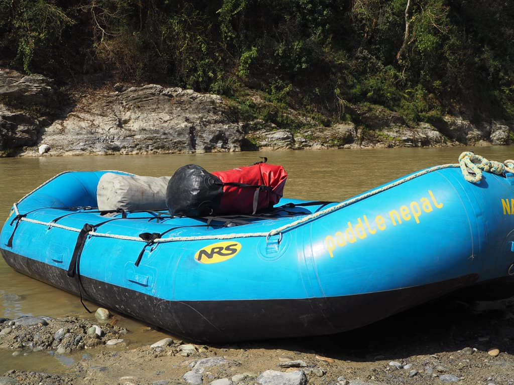 Rafting in Pokhara, Nepal
