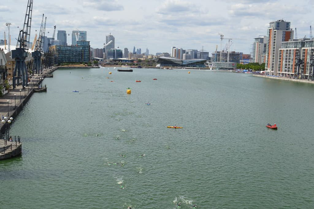 London Royal Docks Open Water Swimming