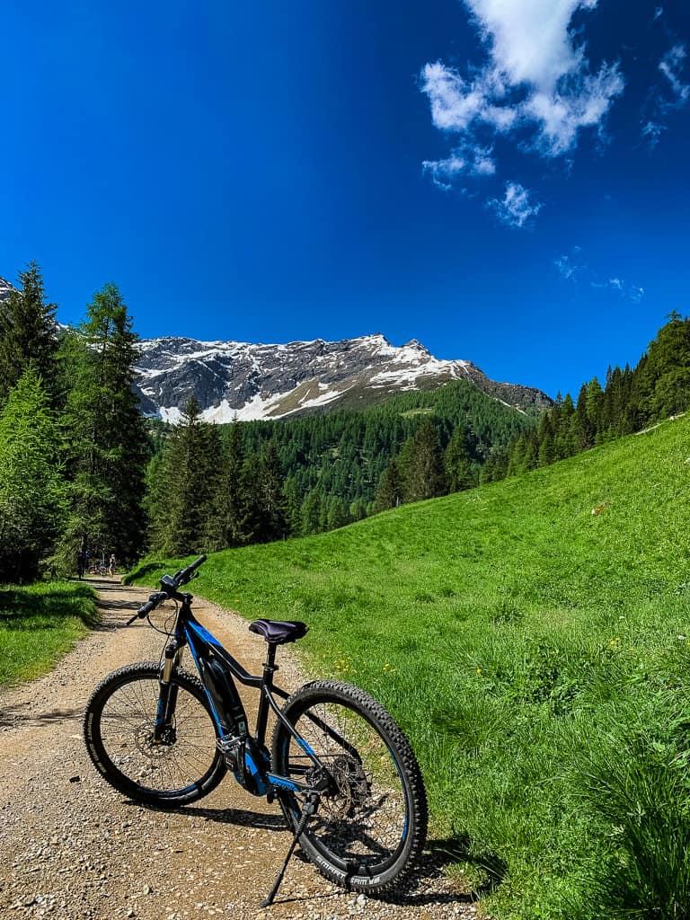 Mountain Biking the Malga Campo in Trentino