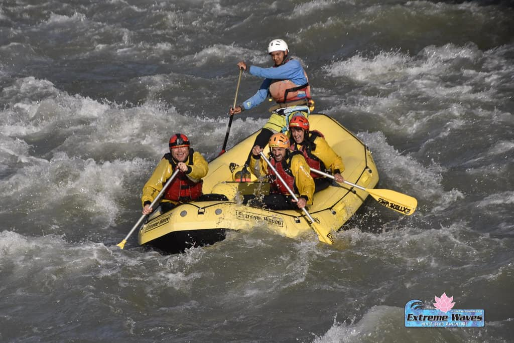 Whitewater Rafting down the Noce River in Trentino