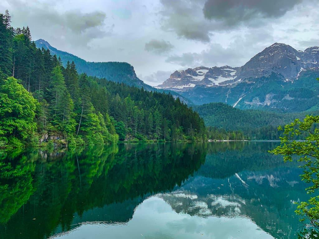 Lake Tovel, Trentino Italy