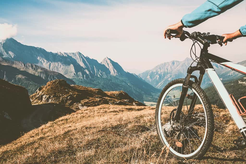 Cycling is a great way to see places.