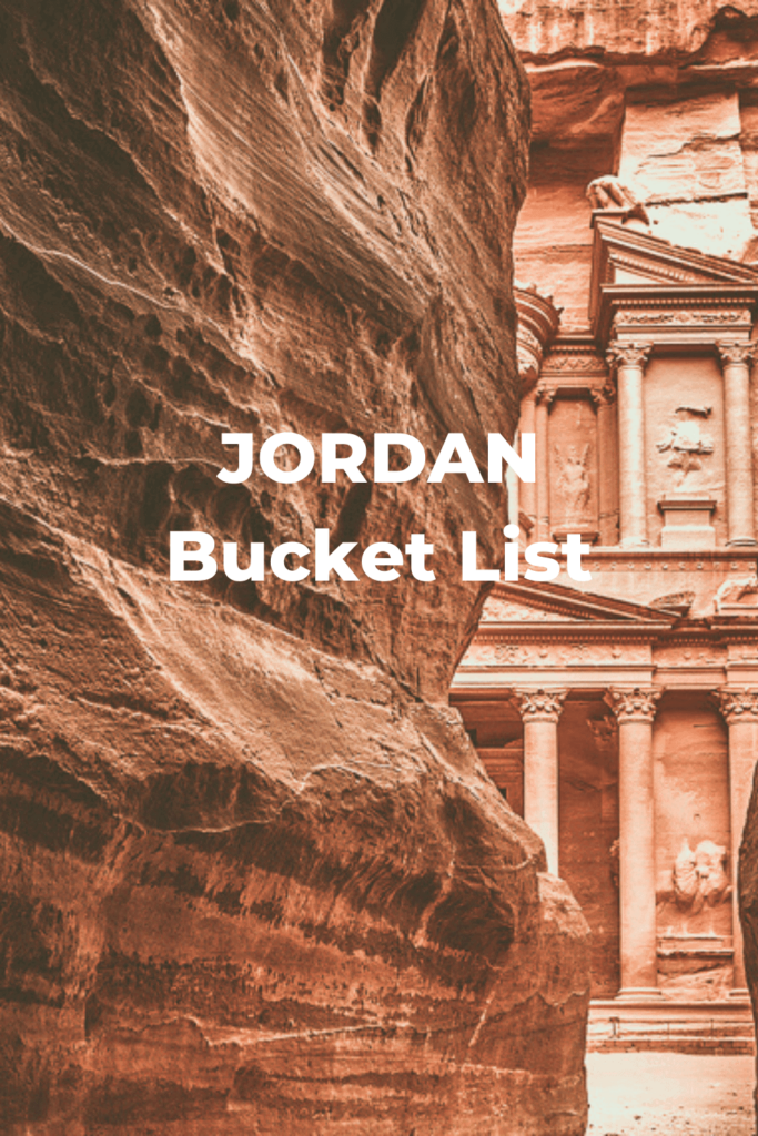 Jordan Bucket List
