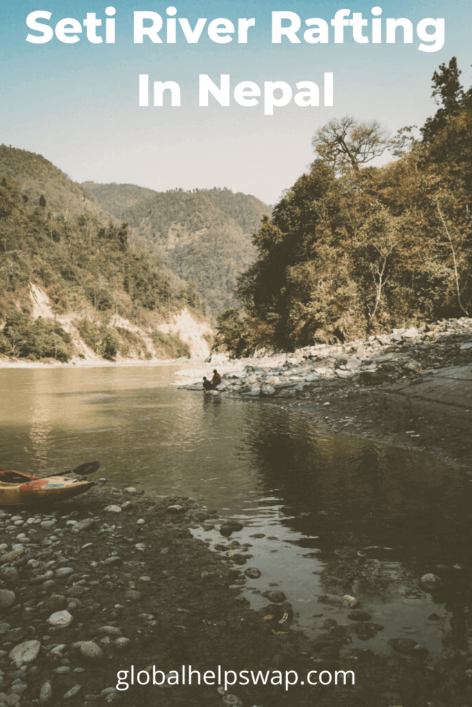 Seti River Rafting in Nepal