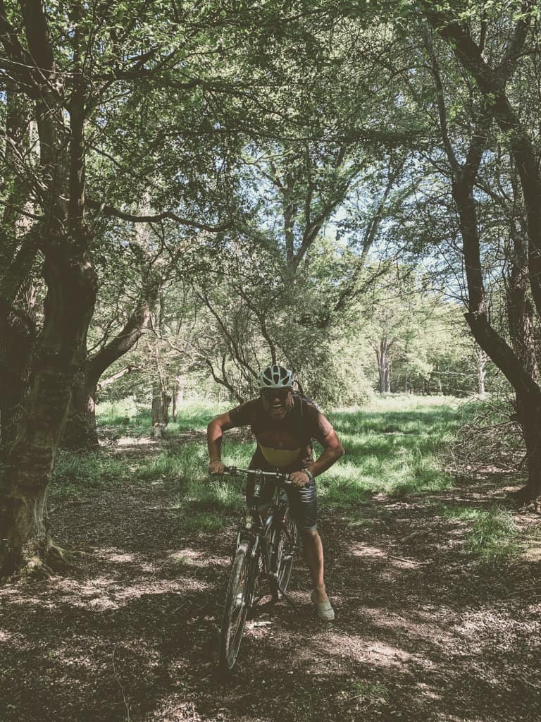 Cycling in Epping Forest
