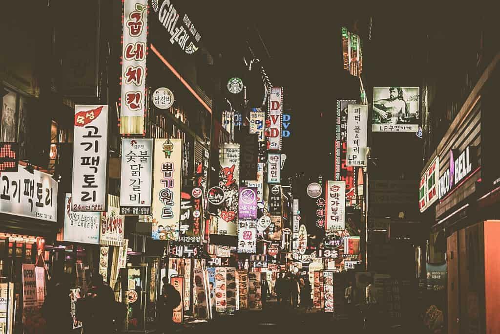 Hongdae Nightlife